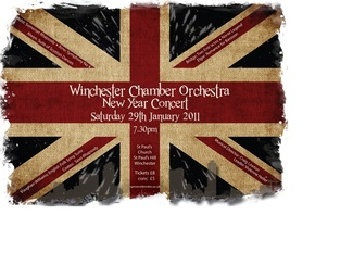 Poster of Union Jack for Concert